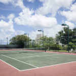 All Counties Fence and Supply Chain Link Fencing on a Tennis Court in San Bernardino and Riverside County