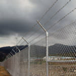 All Counties Fence and Supply Chain Link Fencing in Parking Lot in San Bernardino and Riverside County