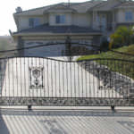 Iron Fencing with gate protecting house in Riverside and San Bernardino Counties