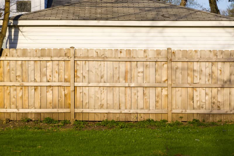 How to care for your newly installed wooden fence