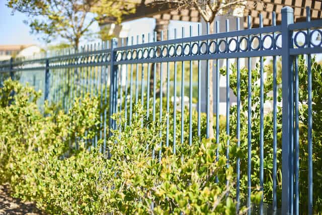 Gallery Of Iron Rail Fence Styles We Offer